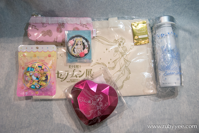 Sailor Moon Haul | www.rubyyee.com