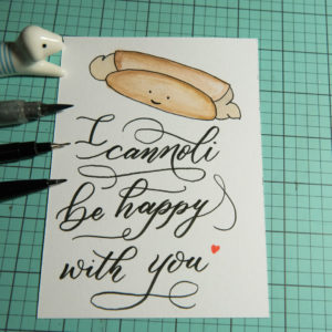 I cannoli be happy with you | www.rubyyee.com